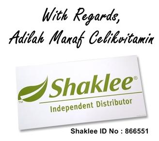 signature Testimonial Set Eczema Shaklee Untuk Bayi Dan Orang Dewasa