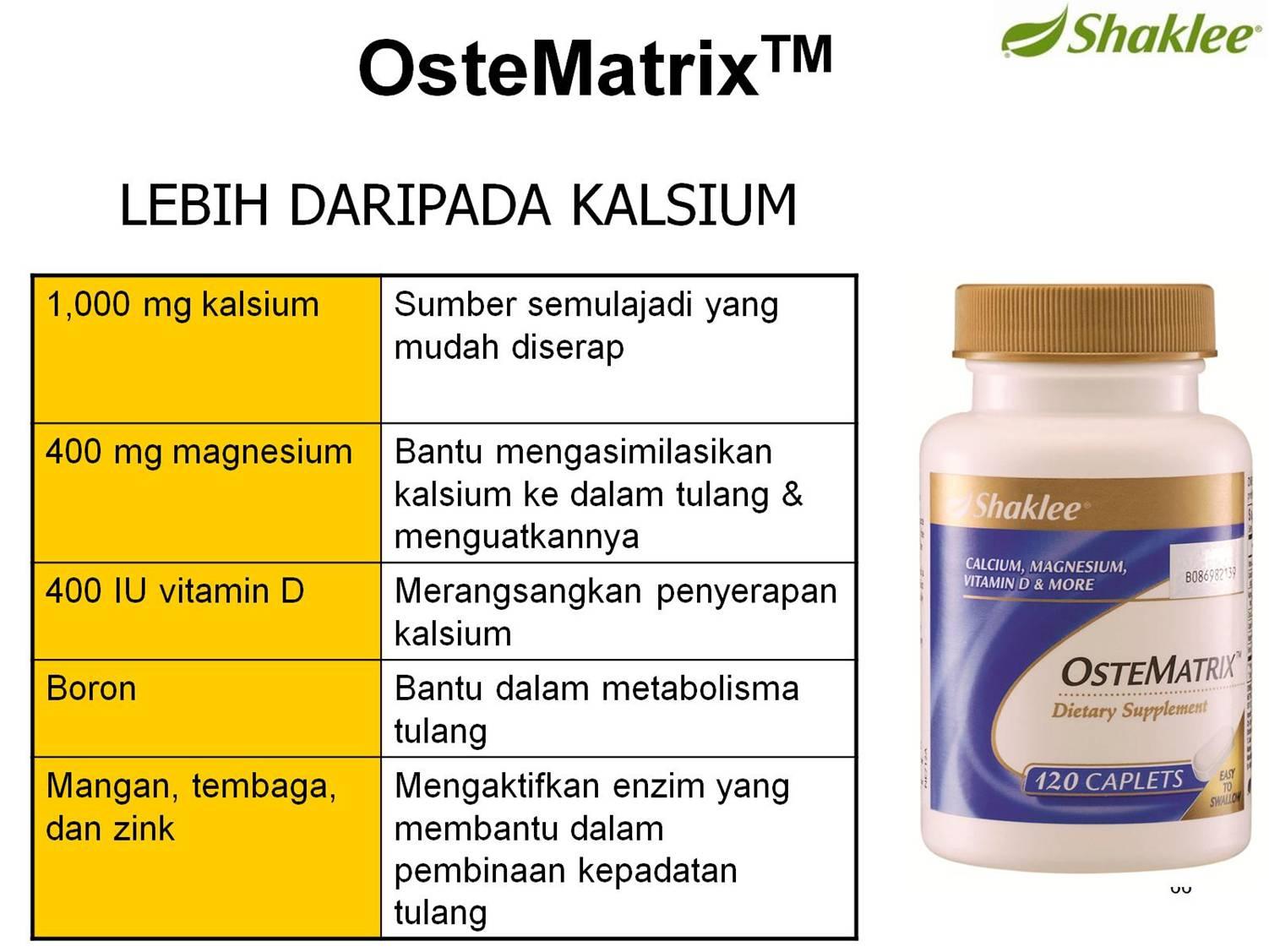 Ostematrix celikvitamin