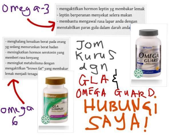 Omega 3 Omega 6 Diet Omega (SIRI 4): Bagaimana Omega 3 & Omega 6 Membantu Anda Utk Kurus