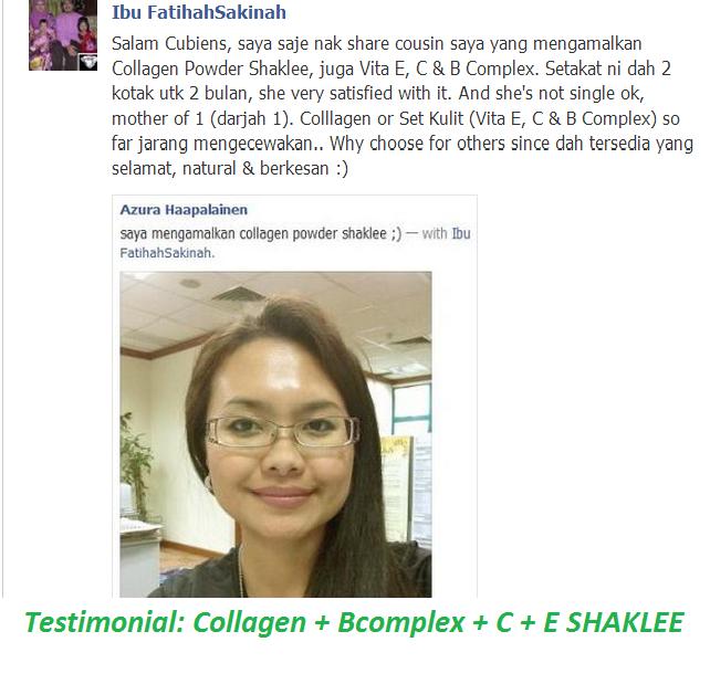 Testimonial ~ Cantik 7