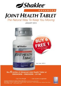 JOINT HEALTH TABLET SHAKLEE MALAYSIA
