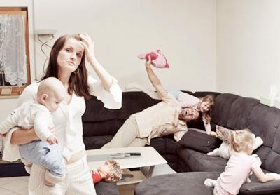 Tekanan & Stres Ibu
