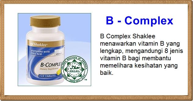 B Complex Shaklee Celikvitamin