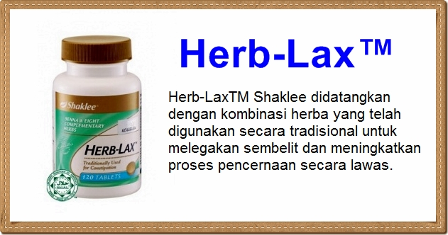 herb-lax shaklee celikvitamin