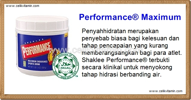 performance drink shaklee celikvitamin