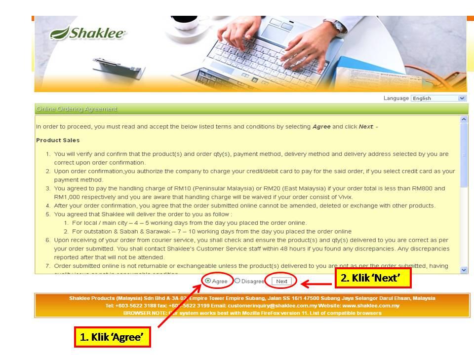 1 Panduan MUDAH Untuk Pelanggan Membuat Pembelian Produk Shaklee Secara Online