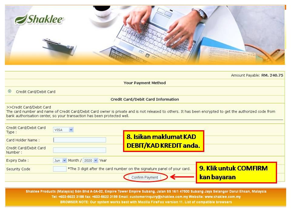 5 Panduan MUDAH Untuk Pelanggan Membuat Pembelian Produk Shaklee Secara Online